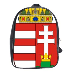 Medieval Coat of Arms of Hungary  School Bags(Large)