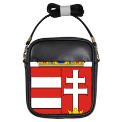 Medieval Coat of Arms of Hungary  Girls Sling Bags