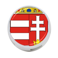 Medieval Coat of Arms of Hungary  4-Port USB Hub (One Side)