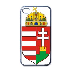 Medieval Coat of Arms of Hungary  Apple iPhone 4 Case (Black)