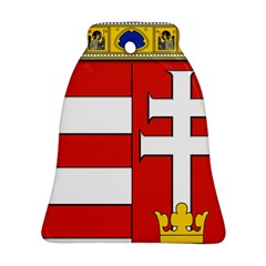 Medieval Coat of Arms of Hungary  Bell Ornament (Two Sides)