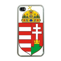 Medieval Coat of Arms of Hungary  Apple iPhone 4 Case (Clear)