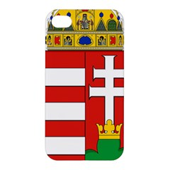 Medieval Coat of Arms of Hungary  Apple iPhone 4/4S Premium Hardshell Case