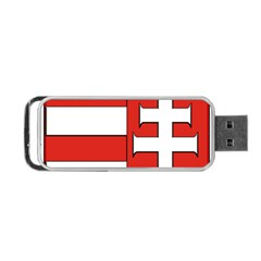 Medieval Coat of Arms of Hungary  Portable USB Flash (One Side)
