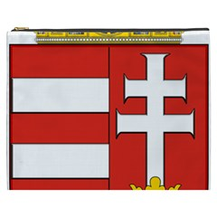 Medieval Coat of Arms of Hungary  Cosmetic Bag (XXXL)