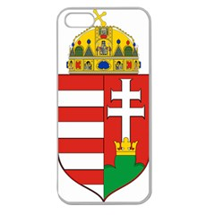 Medieval Coat of Arms of Hungary  Apple Seamless iPhone 5 Case (Clear)