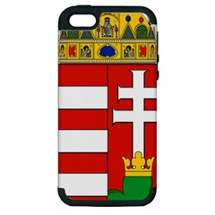 Medieval Coat of Arms of Hungary  Apple iPhone 5 Hardshell Case (PC+Silicone)