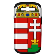 Medieval Coat of Arms of Hungary  Samsung Galaxy S III Hardshell Case (PC+Silicone)