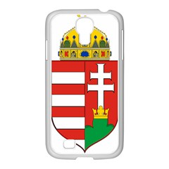 Medieval Coat of Arms of Hungary  Samsung GALAXY S4 I9500/ I9505 Case (White)