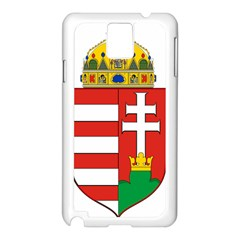 Medieval Coat of Arms of Hungary  Samsung Galaxy Note 3 N9005 Case (White)