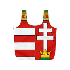Medieval Coat of Arms of Hungary  Full Print Recycle Bags (S)