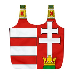 Medieval Coat of Arms of Hungary  Full Print Recycle Bags (L)