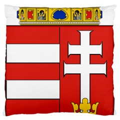 Medieval Coat of Arms of Hungary  Large Flano Cushion Case (Two Sides)