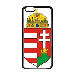 Medieval Coat of Arms of Hungary  Apple iPhone 6/6S Black Enamel Case