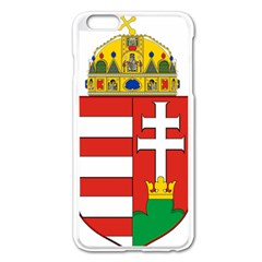 Medieval Coat of Arms of Hungary  Apple iPhone 6 Plus/6S Plus Enamel White Case