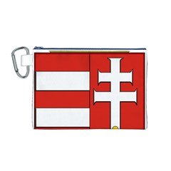 Medieval Coat of Arms of Hungary  Canvas Cosmetic Bag (M)