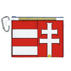 Medieval Coat of Arms of Hungary  Canvas Cosmetic Bag (XL)