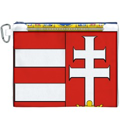 Medieval Coat of Arms of Hungary  Canvas Cosmetic Bag (XXXL)