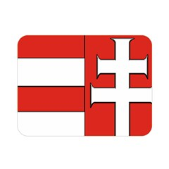 Medieval Coat of Arms of Hungary  Double Sided Flano Blanket (Mini)