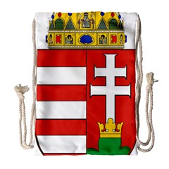 Medieval Coat of Arms of Hungary  Drawstring Bag (Large)