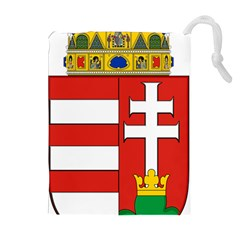 Medieval Coat of Arms of Hungary  Drawstring Pouches (Extra Large)