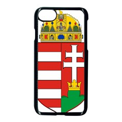 Medieval Coat of Arms of Hungary  Apple iPhone 7 Seamless Case (Black)