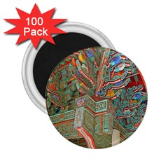 Traditional Korean Painted Paterns 2.25  Magnets (100 pack)