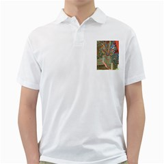 Traditional Korean Painted Paterns Golf Shirts