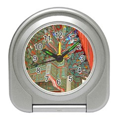 Traditional Korean Painted Paterns Travel Alarm Clocks