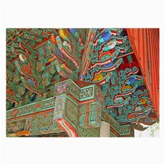 Traditional Korean Painted Paterns Large Glasses Cloth