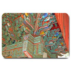 Traditional Korean Painted Paterns Large Doormat