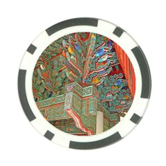 Traditional Korean Painted Paterns Poker Chip Card Guard