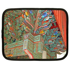 Traditional Korean Painted Paterns Netbook Case (Large)