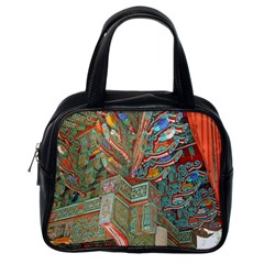 Traditional Korean Painted Paterns Classic Handbags (One Side)