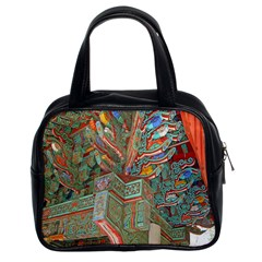 Traditional Korean Painted Paterns Classic Handbags (2 Sides)