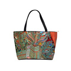 Traditional Korean Painted Paterns Shoulder Handbags