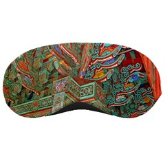 Traditional Korean Painted Paterns Sleeping Masks