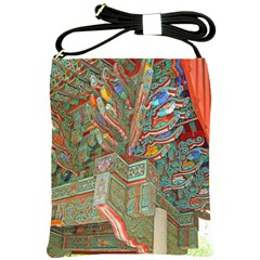 Traditional Korean Painted Paterns Shoulder Sling Bags