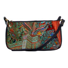 Traditional Korean Painted Paterns Shoulder Clutch Bags