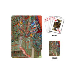 Traditional Korean Painted Paterns Playing Cards (Mini)