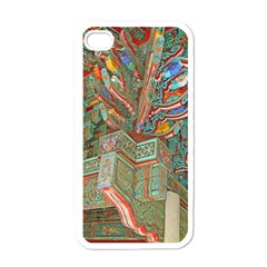 Traditional Korean Painted Paterns Apple iPhone 4 Case (White)