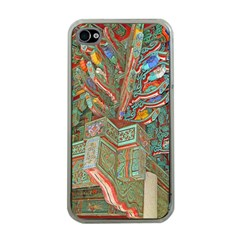 Traditional Korean Painted Paterns Apple iPhone 4 Case (Clear)