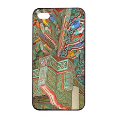Traditional Korean Painted Paterns Apple iPhone 4/4s Seamless Case (Black)