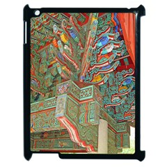 Traditional Korean Painted Paterns Apple iPad 2 Case (Black)