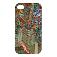 Traditional Korean Painted Paterns Apple iPhone 4/4S Premium Hardshell Case