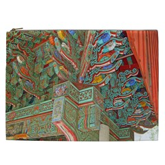 Traditional Korean Painted Paterns Cosmetic Bag (XXL)
