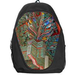 Traditional Korean Painted Paterns Backpack Bag
