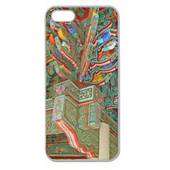 Traditional Korean Painted Paterns Apple Seamless iPhone 5 Case (Clear)