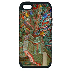 Traditional Korean Painted Paterns Apple iPhone 5 Hardshell Case (PC+Silicone)