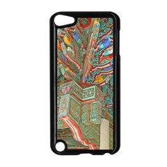 Traditional Korean Painted Paterns Apple iPod Touch 5 Case (Black)